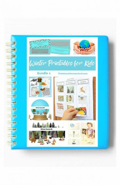 Winter Printables for Kids – Bundle 1