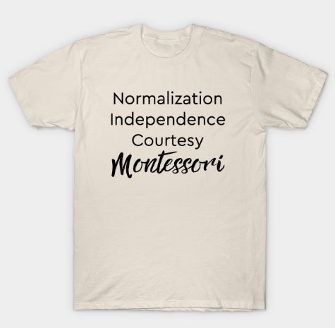 Normalization Independence Courtesy Montessori (black text)