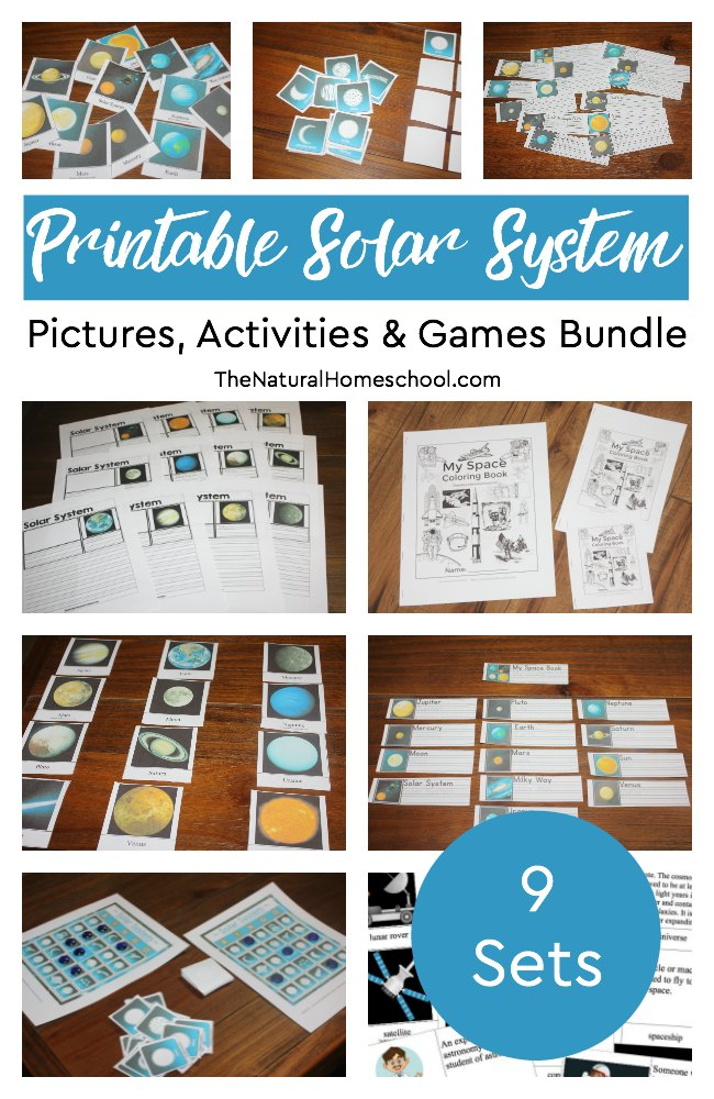 Solar System and Astronomy for Kids - The Natural Homeschool