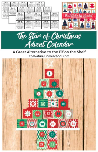 The Star of Christmas Interactive Advent Calendar (a great alternative to the Elf on the Shelf)