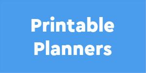 printable planners tab