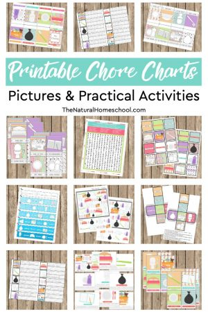 picture about Printable Chore Charts for Multiple Children called The Suitable Checklist of Absolutely free Printable Chore Charts for A number of