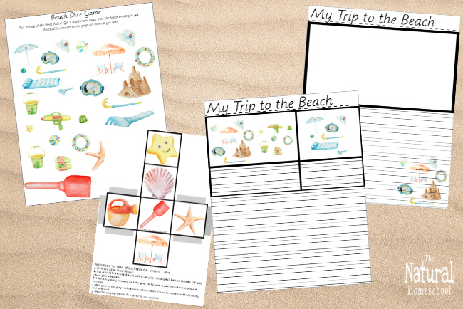 Come and take a look at this printable bundle with 10 Montessori Summer Ideas that will keep kids busy and learning about Summer!